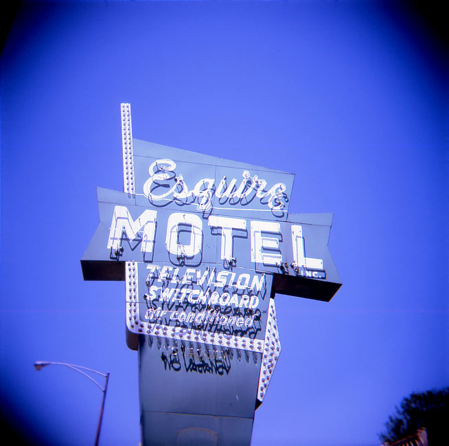 Esquire Motel Sign